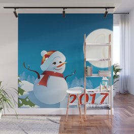 Join the spirit of Happiness Wall Mural