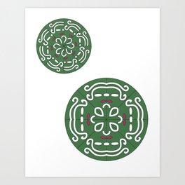 Mandala Project Two Art Print