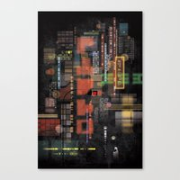 lost in translation Canvas Prints featuring Lost in Translation by Livio Bernardo