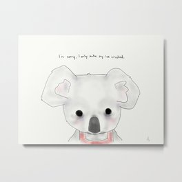 kimberly koala Metal Print