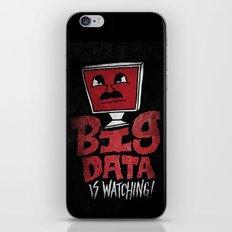 Big Data is Watching iPhone & iPod Skin