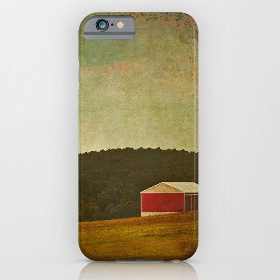 New England Barn iPhone & iPod Case