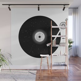 The Music of the Moon and the Stars Wall Mural