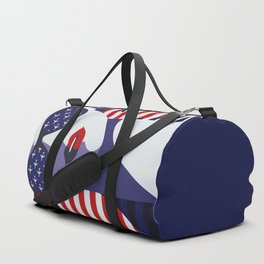 American Stewardess Duffle Bag