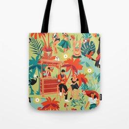 Resort living Tote Bag