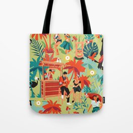 Resort living Tote Bag