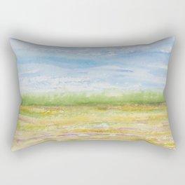 Sunny (Field) Day (South Carolina Field Series) Rectangular Pillow
