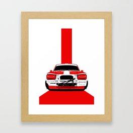 I AM LEGEND - NISSAN HAKOSUKA SKYLINE GT-R Framed Art Print