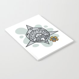 shark splash Notebook