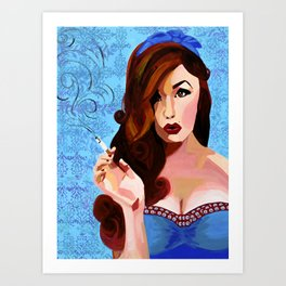 Who, me? Art Print