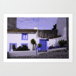 Home in Nazare Art Print