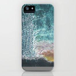dark landscape iPhone Case