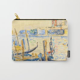 "Paul Signac ""View of Venice"" Carry-All Pouch"