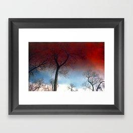 Skybloods Framed Art Print