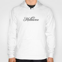 melbourne Hoodies featuring Melbourne by Blocks & Boroughs