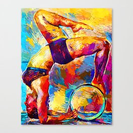 Yoga 2 Canvas Print