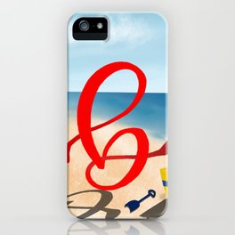 Baby B at the Beach iPhone Case