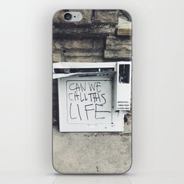 can we call this life iPhone Skin