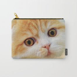 Young Scottish Fold cat Carry-All Pouch