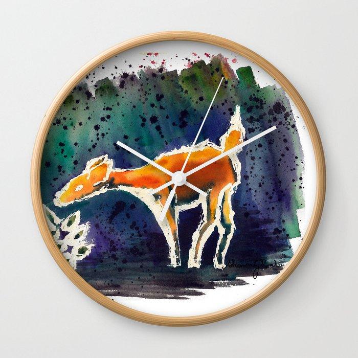 Doe Love Wall Clock