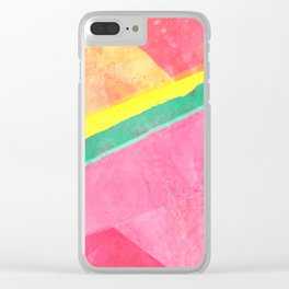 Twisted Melon Clear iPhone Case