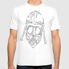 Baby Vader Mens Fitted Tee White MEDIUM