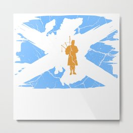 Scotland Gift Edinburgh Alba United Kingdom Metal Print