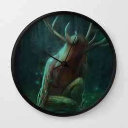 Into the Mist Wall Clock