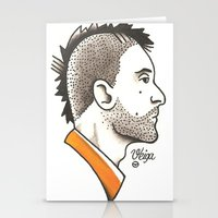 taxi driver Stationery Cards featuring Taxi Driver #1 by @VEIGATATTOOER