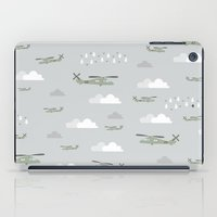 blackhawks iPad Cases featuring Hawks and things by Let it Rain