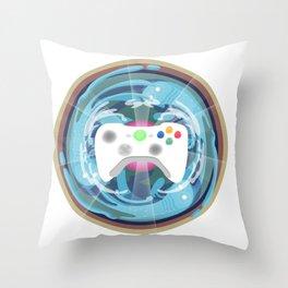 Heaven Mandala - God bless the pad Throw Pillow