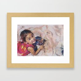 The Bliss of Childhood Framed Art Print