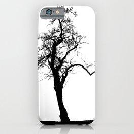 Einsamer Baum iPhone Case