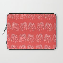 branches red graphic nordic minimal retro Laptop Sleeve