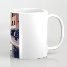 Boats in Cassis Harbor Coffee Mug