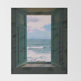 Atlantic Morning Throw Blanket