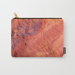 Natural Sandstone Art - Valley of Fire Carry-All Pouch