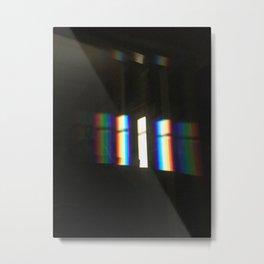 Rainbow Light Metal Print
