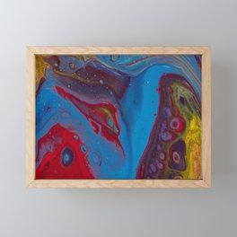 Fanning The Flames Framed Mini Art Print