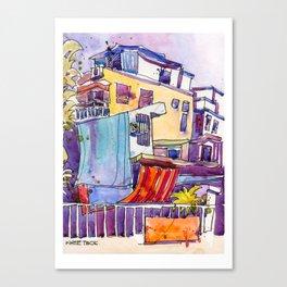 20161231 Tai O Sketch 2 Canvas Print