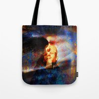 egypt Tote Bags featuring ancient Egypt by  Agostino Lo Coco