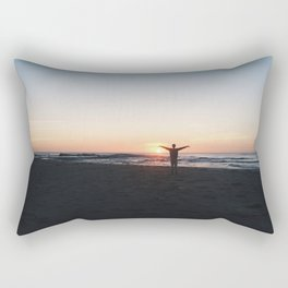 Sunrise at Culburra #2 Rectangular Pillow