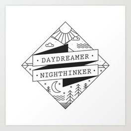 daydreamer nighthinker II Art Print