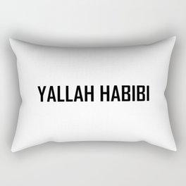Arabic Yallah-Habibi art work Rectangular Pillow