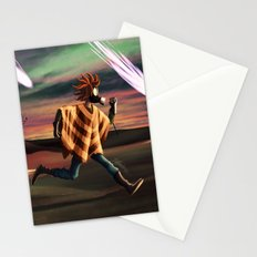 Air Raid in the Battlefield Stationery Cards