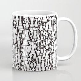 Chess Pattern II WHITE Coffee Mug