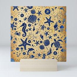 SEALIFE BACKGROUND - 15 SAND Mini Art Print