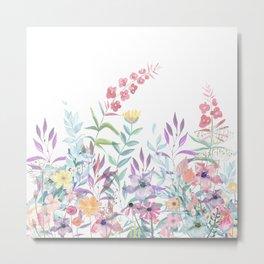 Sweet Spring Meadow Metal Print