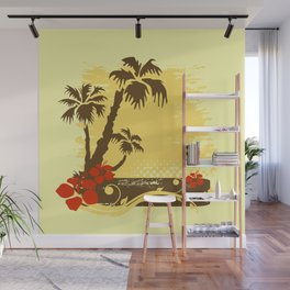 Tropical summer Wall Mural