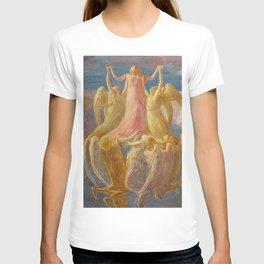 L'Assunzione (Assunta), Portrait by Gaetano Previati T-shirt